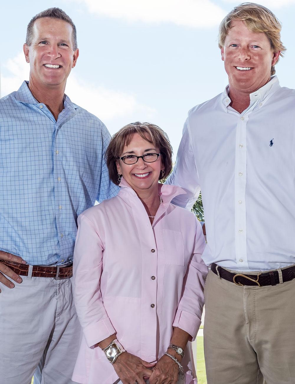 Patsy Zanetti, Stuart Rumph, & Chip Olsen