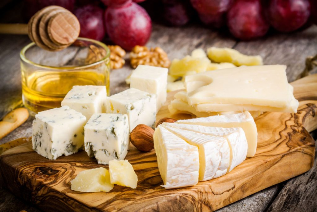 cheese board for Seabrook Island Club's wine and cheese night
