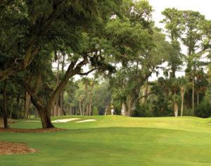 Luxury golf course on Seabrook Island