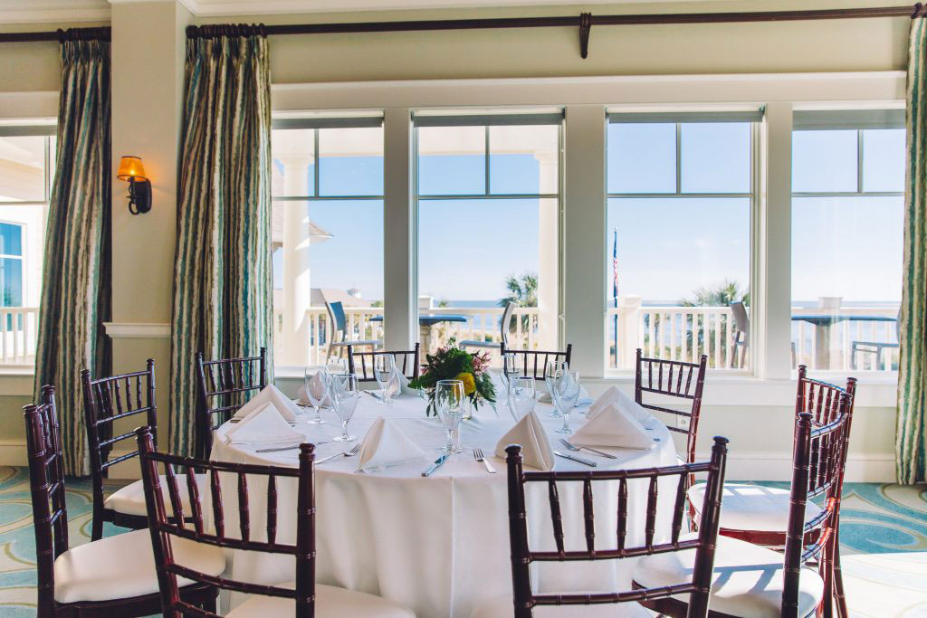 Seabrook Island Club Deveaux Room Private Event