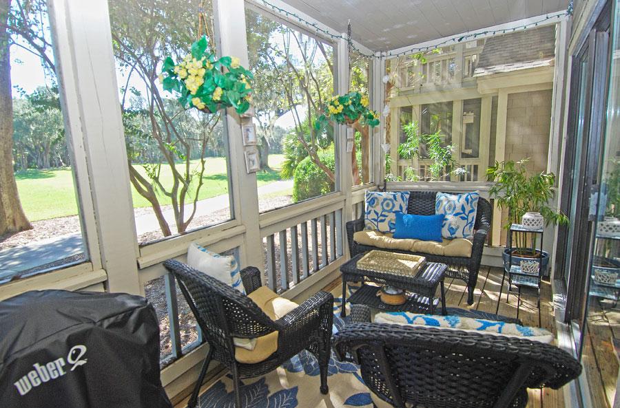 beach house back porch