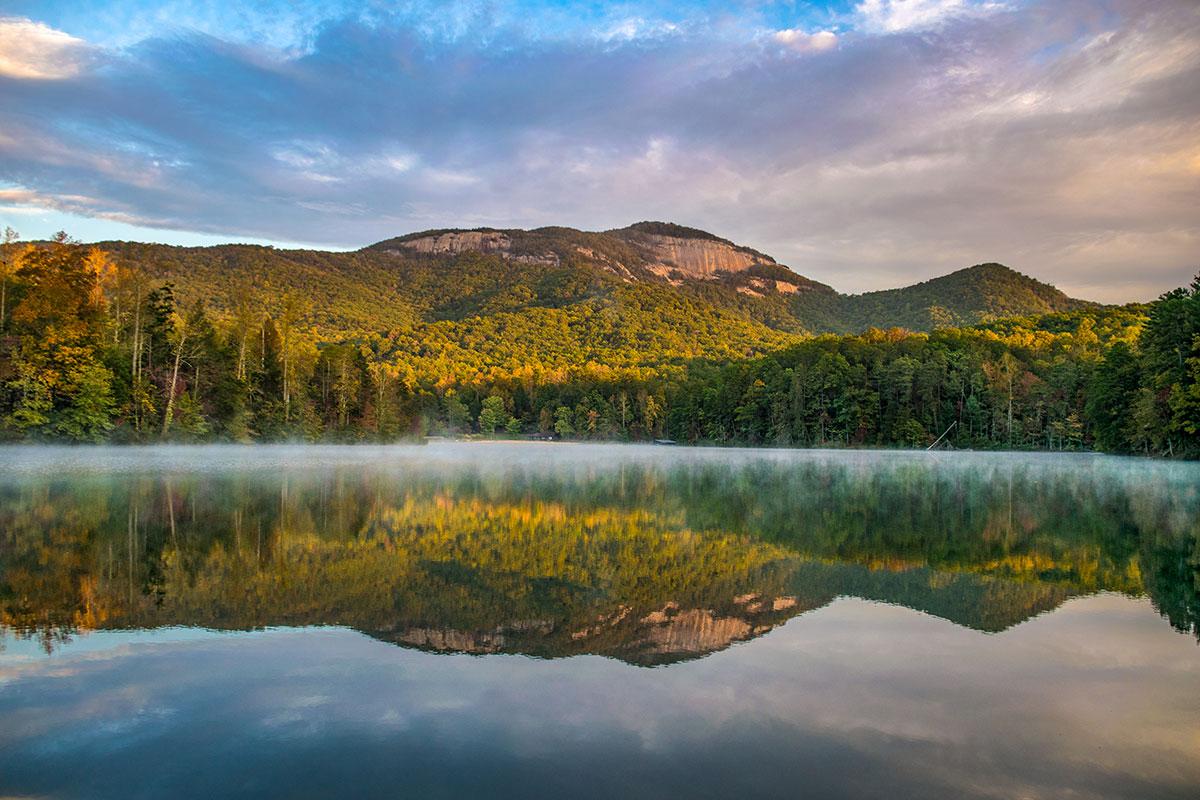 blue ridge mountains in upstate south carolina