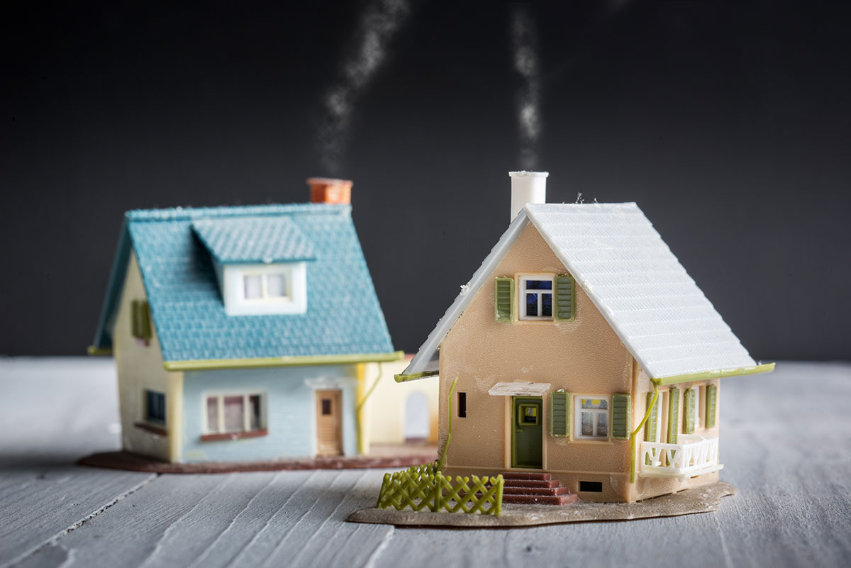 two model homes