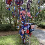 seabrook island fourth of july mailbox contest 2nd place
