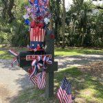 seabrook island fourth of july mailbox decorating 1