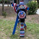 seabrook island fourth of july mailbox decorating