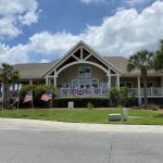 seabrook island shop decorated for the fourth of july