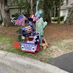 seabrook island fourth of July mailbox decorating 10
