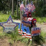 seabrook island fourth of July mailbox decorating 9