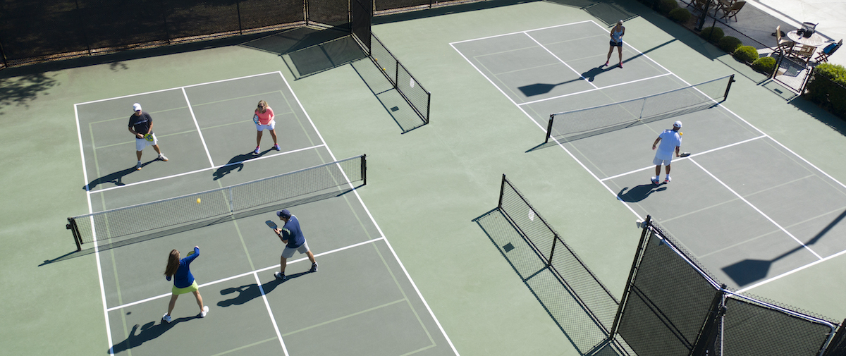 Pickleball at Seabrook Island Racquet Club