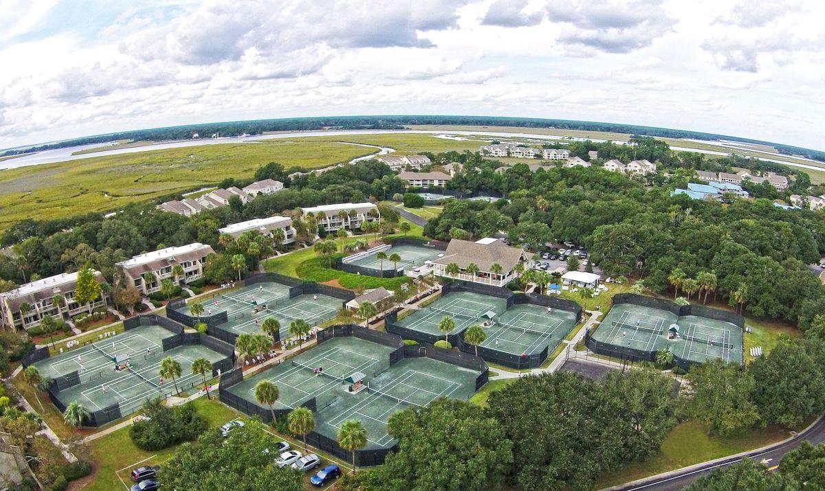 Seabrook Island Tennis Alan Fleming Court