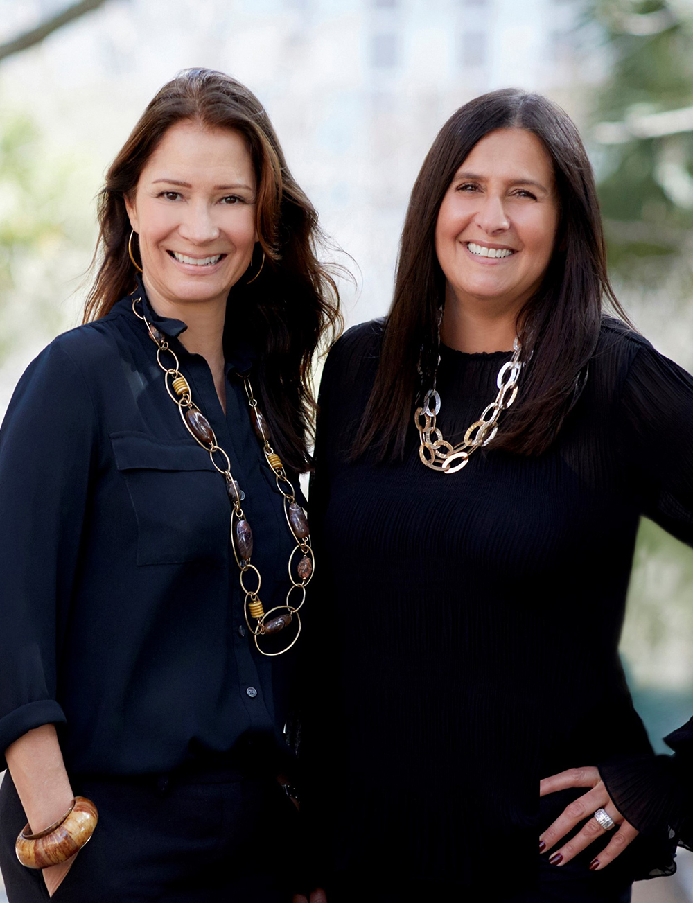 Joy Dellapina and Kathleen McCormack