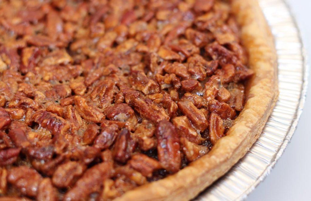 Image up close of a Pecan Pie