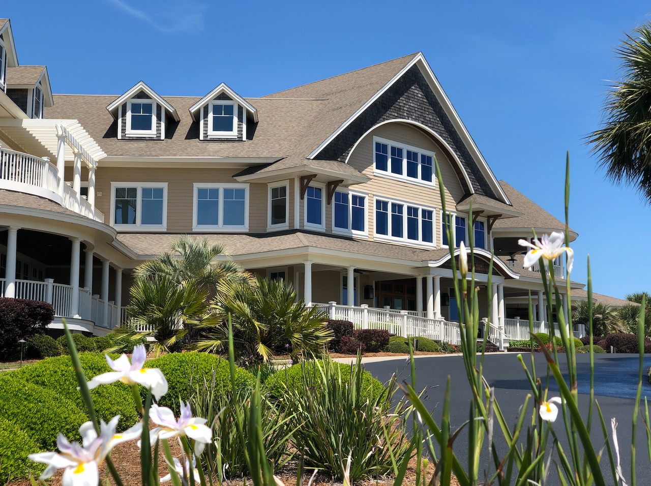 Exterior of the Seabrook Island Club