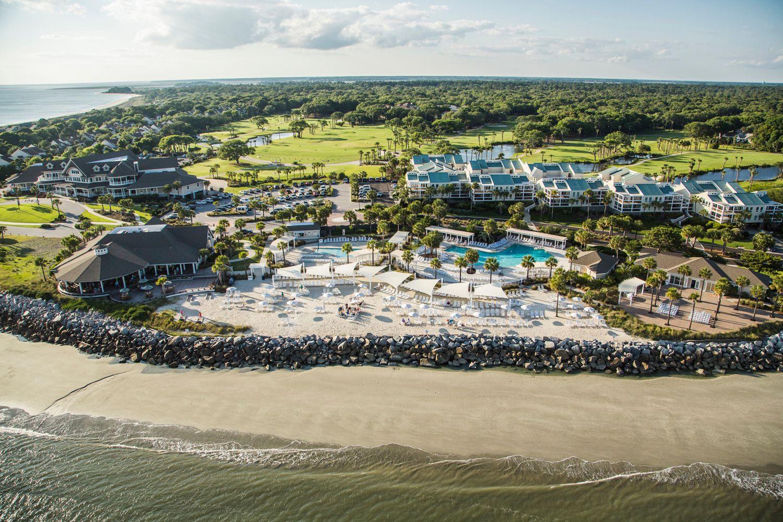 Seabrook Island aerial view