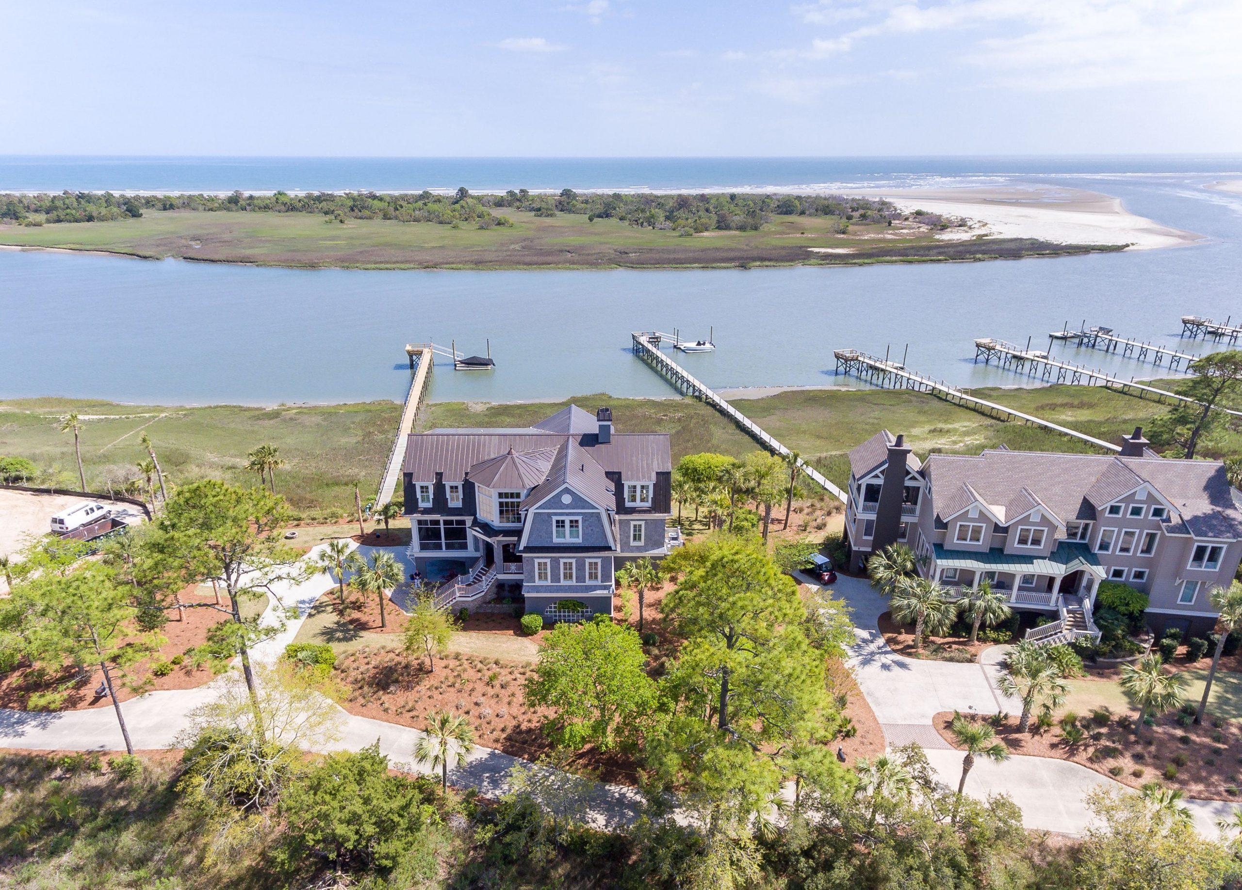 Seabrook Island Real Estate aerial shot